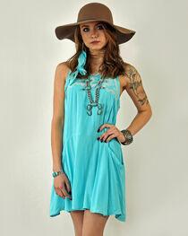 Tasha Polizzi Women's Blue Madeline Dress , , hi-res
