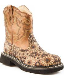 Roper Kid's Chunk Riderlite 2 Western Boots, , hi-res