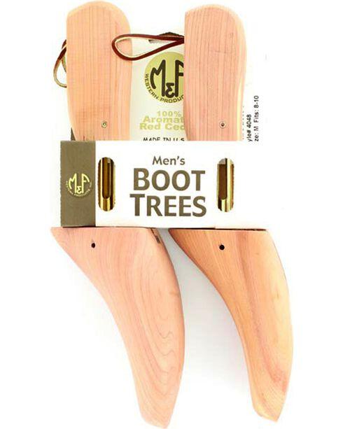 M&F Men's Red Cedar Boot Tree, Cedar, hi-res