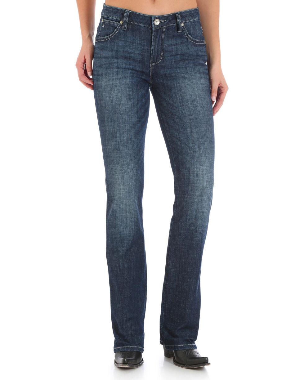 Wrangler Women's Aura Instantly Slimming Jeans , Indigo, hi-res