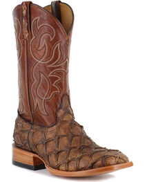 Cody James® Men's Pirarucu Exotic Boots, , hi-res
