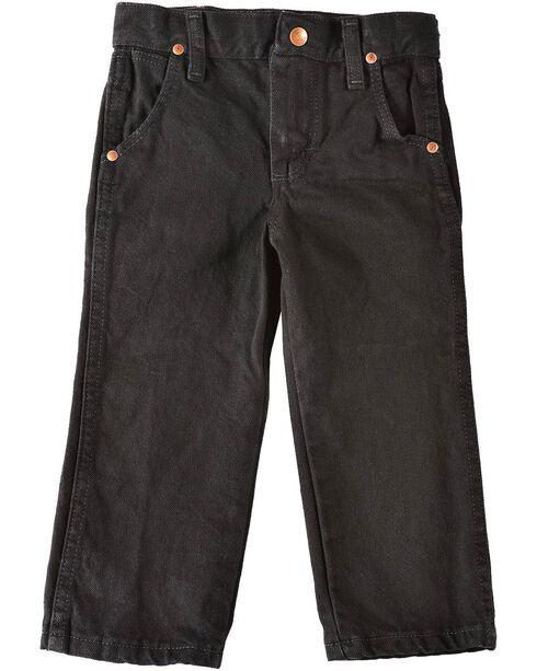 Wrangler Boys' ProRodeo Jeans Size 1-7, Black, hi-res