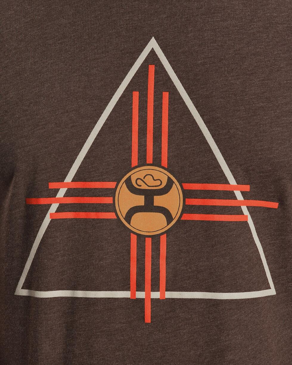 Hooey Men's Brown Thunderbird Tee, Brown, hi-res