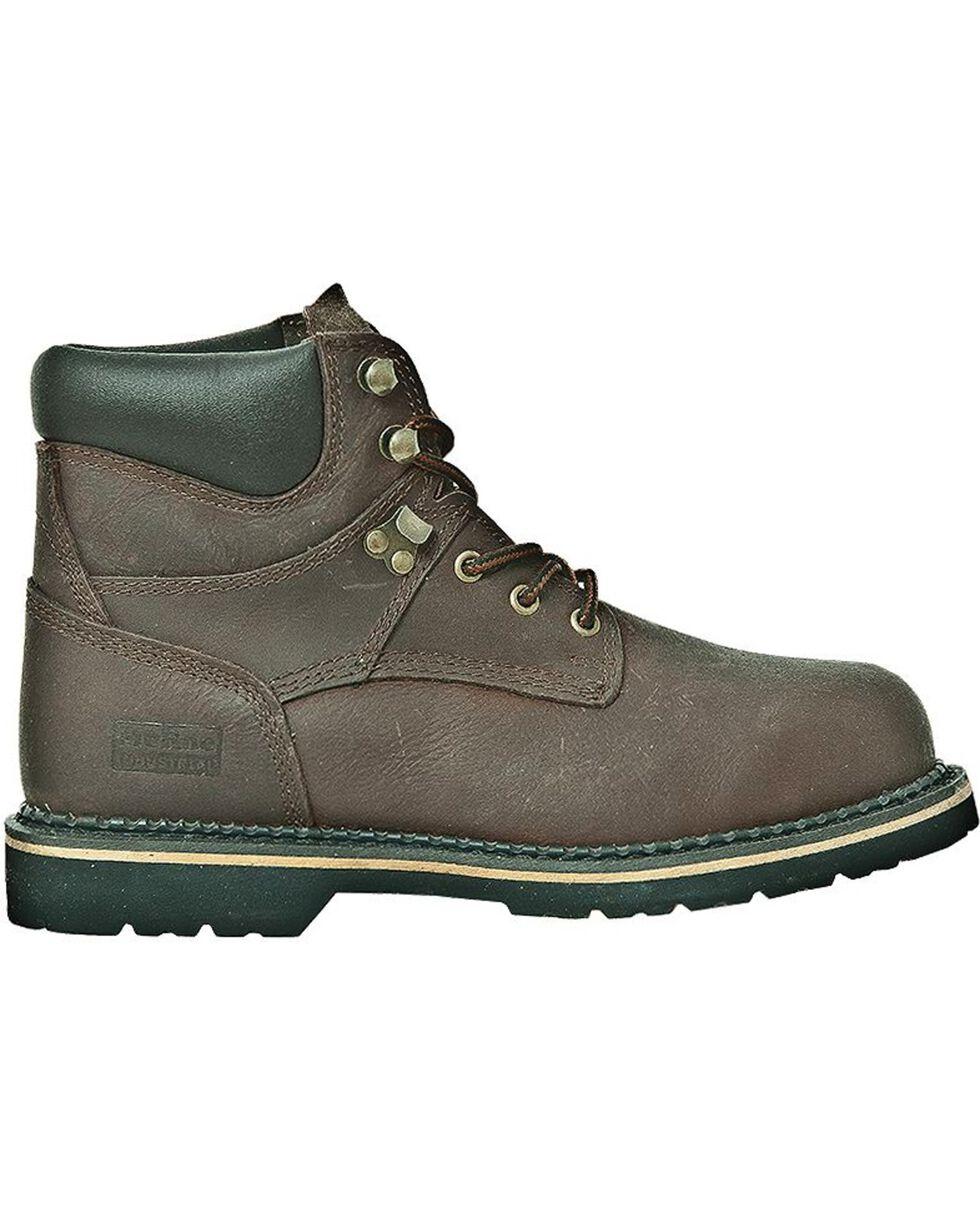 "McRae Industrial Men's Ruff Rider 6"" Work Boots, Dark Brown, hi-res"