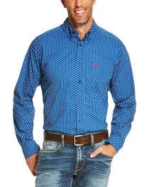 Ariat Men's Blue Rico Print Long Sleeve Western Shirt , , hi-res