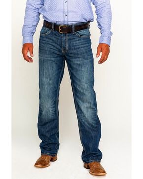 Cody James® Men's Terlingua Medium Wash Stretch Boot Cut Jeans, Blue, hi-res