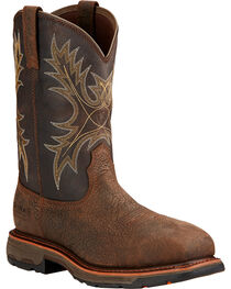 Ariat Men's Work Hog Composite Toe WP Work Boots, , hi-res