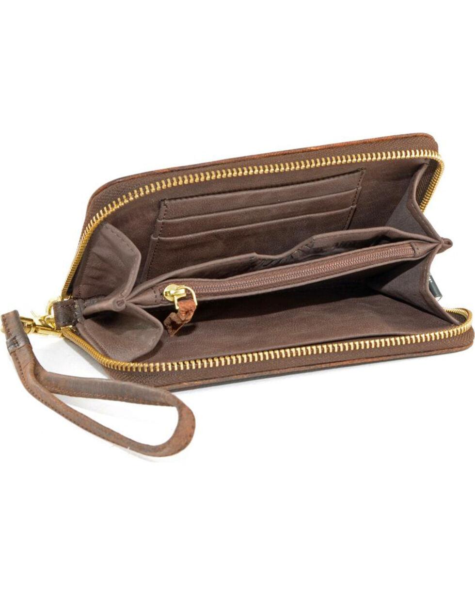 Gameday Boots Clemson University Leather Wristlet, Brass, hi-res