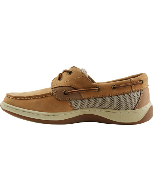 Eastland Men's Tan Solstice Boat Shoe Oxfords, Tan, hi-res