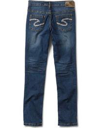Silver Girls' Sasha Skinny Jeans - 7-16, , hi-res