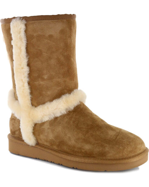 UGG® Women's Carter Casual Boots, Chestnut, hi-res