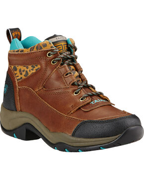 Ariat Women's Terrain Outdoor Boots, Brown, hi-res