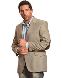 Circle S Men's Lubbock Elbow Patch Sport Coat - Big & Tall, , hi-res