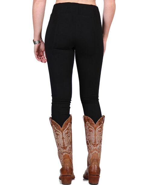 Boom Boom Jeans Women's Form Fitting Leggings, Black, hi-res