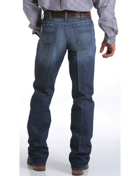 Cinch Men's White Label Dark Stonewash Jeans - Straight Leg, Indigo, hi-res