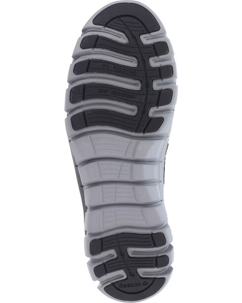 Reebok Women's Sublite Cushion Athletic Work Oxfords - Alloy Toe, Black, hi-res