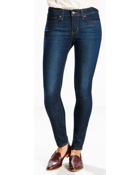 Levi's Women's 711 4-Way Stretch Jeans - Skinny , Indigo, hi-res