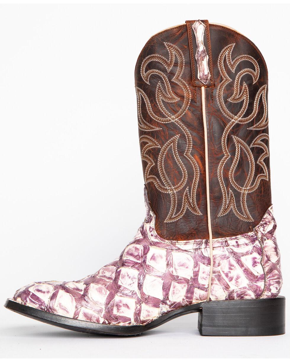 Cody James® Men's Pirarucu Thunder Exotic Boots, White, hi-res