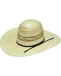 Twister Open Range Bangora Straw Open Crown Hat, , hi-res
