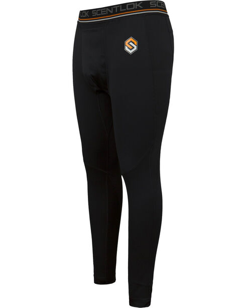 Scentlok Technologies Men's Black Nexus Carbon Active Weight Pants , Black, hi-res