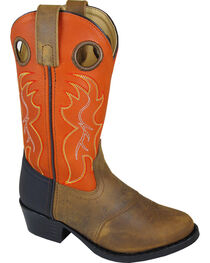 Smoky Mountain Boys' Thomas Western Boots - Round Toe , , hi-res