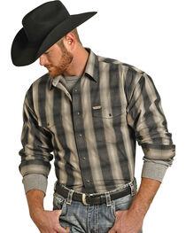 Panhandle Slim Men's Bandera Brushed Long Sleeve Shirt , , hi-res