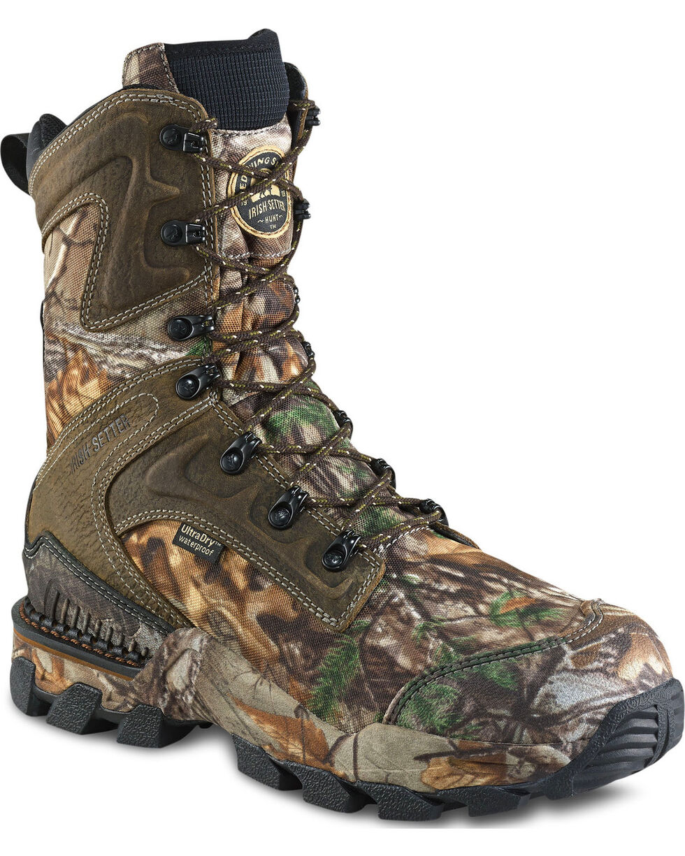 "Irish Setter by Red Wing Shoes Men's Realtree Xtra Insulated 10"" Hunting Boots , Camouflage, hi-res"