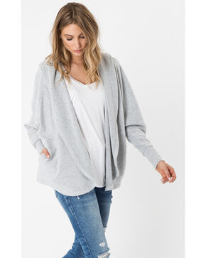 Z Supply Women's Silver The Loft Cardigan , Silver, hi-res
