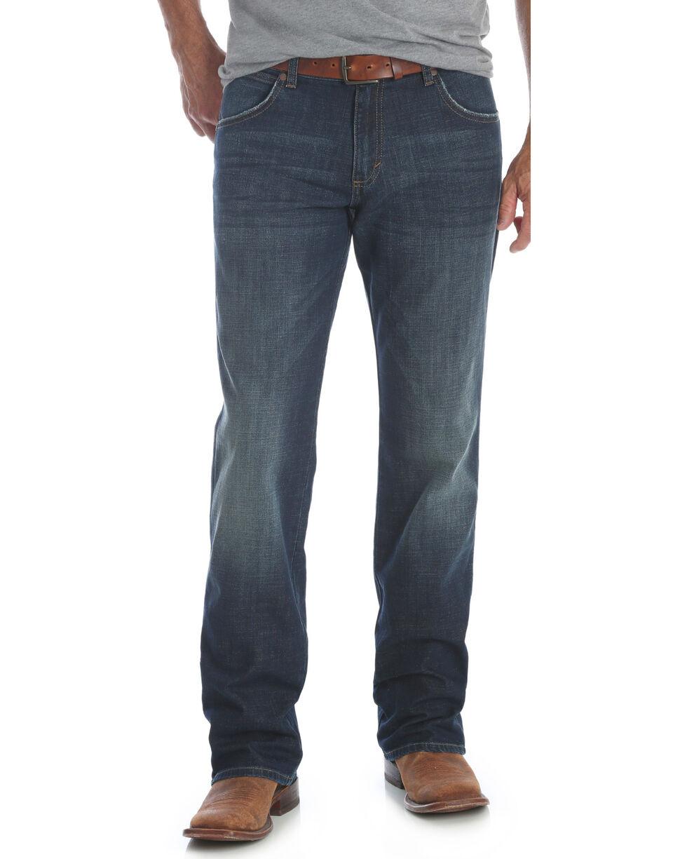 Wrangler Men's Blue Retro Relaxed Fit Jeans - Straight Leg , Blue, hi-res