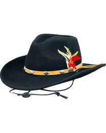 Outback Trading Men's Wide Open Spaces Wool Hat, , hi-res