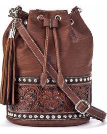 Blazin' Roxx Women's Embossed Bucket Bag, , hi-res