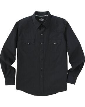 Garth Brooks Sevens by Cinch Paisley Western Shirt, Black, hi-res