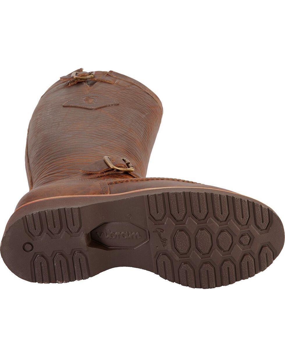 """Chippewa Men's 17"""" Moc Toe Snake Boots, Tan, hi-res"""