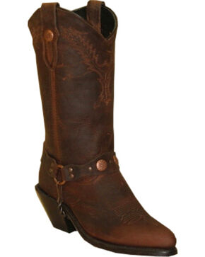 "Sage Boots by Abilene Women's 11"" Fashion Western Boots, Brown, hi-res"