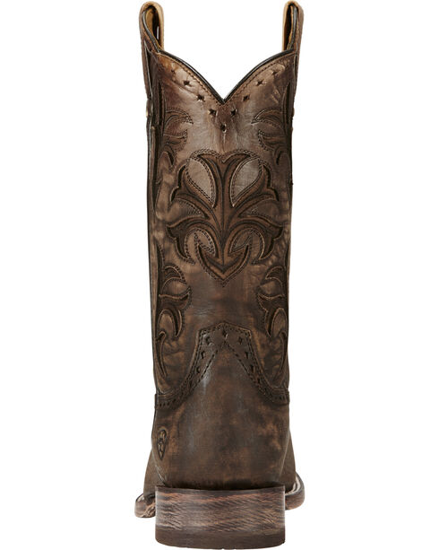 Ariat Chocolate Ombre Cowboss Performance Cowboy Boots - Square Toe, Chocolate, hi-res