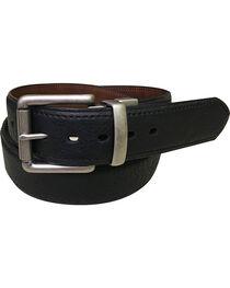 Berne Men's Reversible Leather Belt , , hi-res