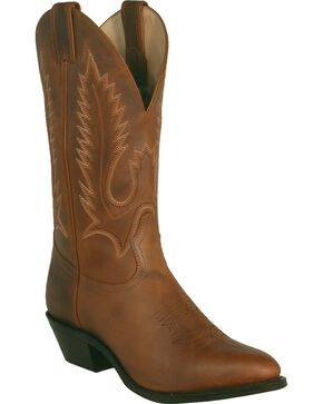 "Boulet Men's 13"" Challenger Rubber Sole Cowboy Boots, Golden Tan, hi-res"