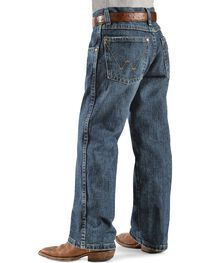 Wrangler Boy's RETRO Straight Leg Western Jean Size 8-16, , hi-res