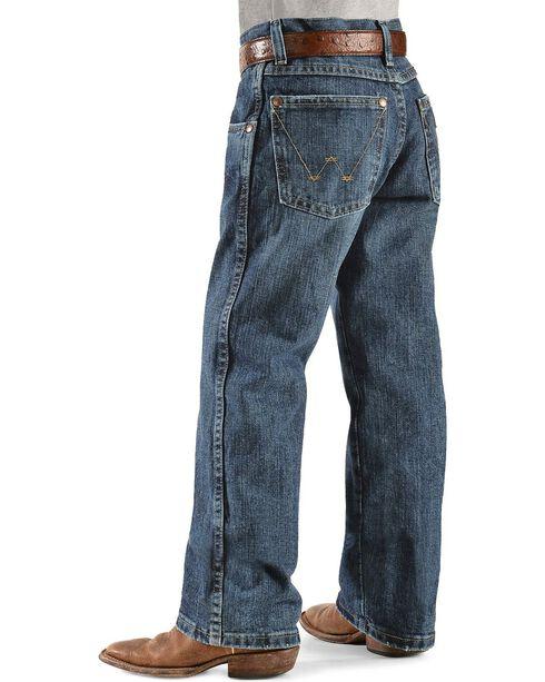 Wrangler Boy's RETRO Straight Leg Western Jean Size 8-16, Denim, hi-res