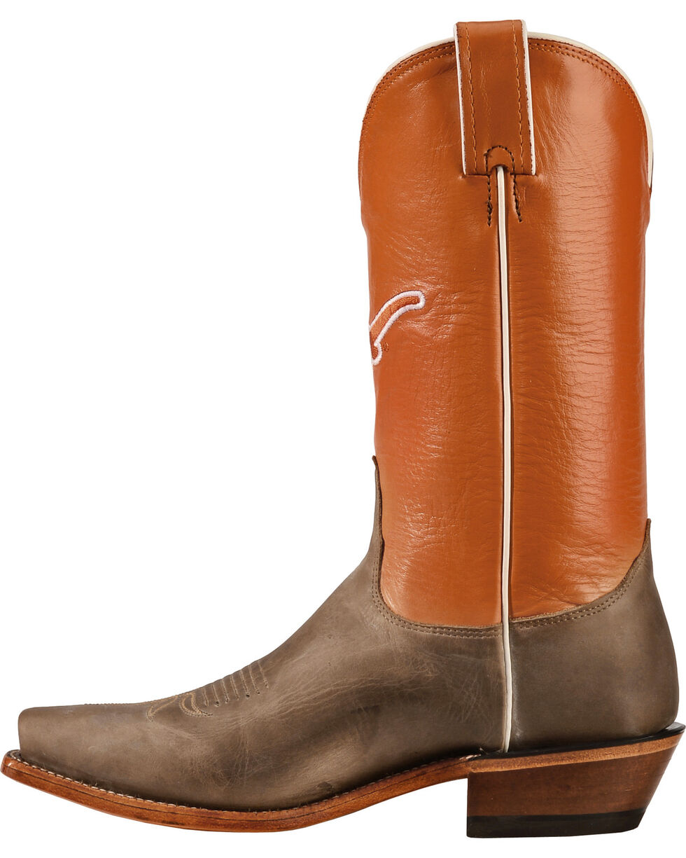 Nocona Women's University of Texas College Boots, Tan, hi-res