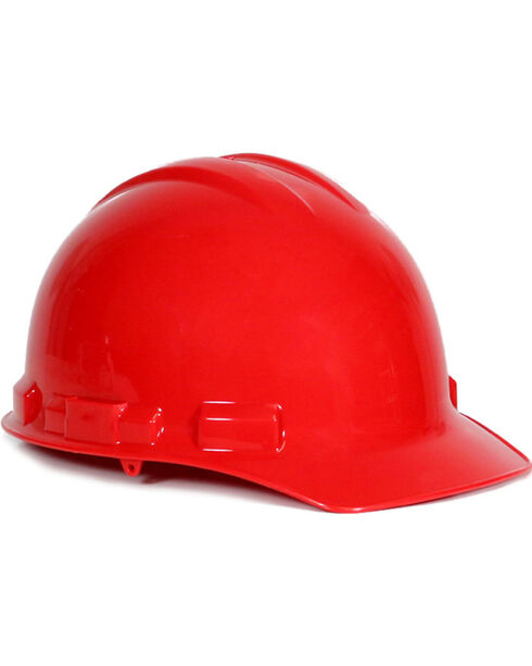 Radians Red Granite Cap Style Hard Hat , Red, hi-res