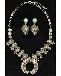 Blazin Roxx Women's Squash Blossom Jewelry Set , , hi-res