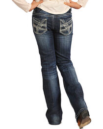 Rock & Roll Cowgirl Girls' Classic Boot Cut Jeans, , hi-res