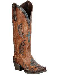Lane Grace Cowgirl Boots - Snip Toe, , hi-res