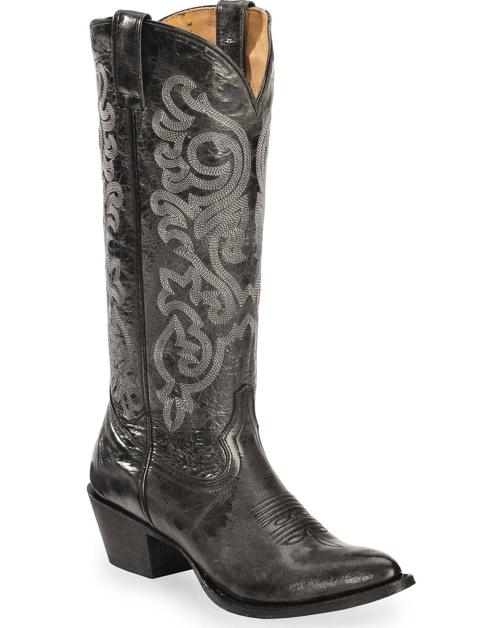 Shyanne Women's Tall Black Western Boots - Narrow Medium Toe, , hi-res