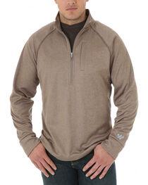 Wrangler Men's Cool Vantage Half Zip Pullover , , hi-res