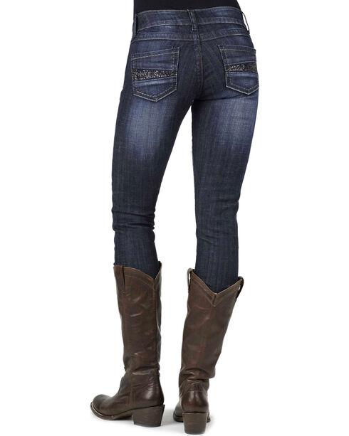 Stetson Women's Pixie Fit Skinny Jeans, Denim, hi-res