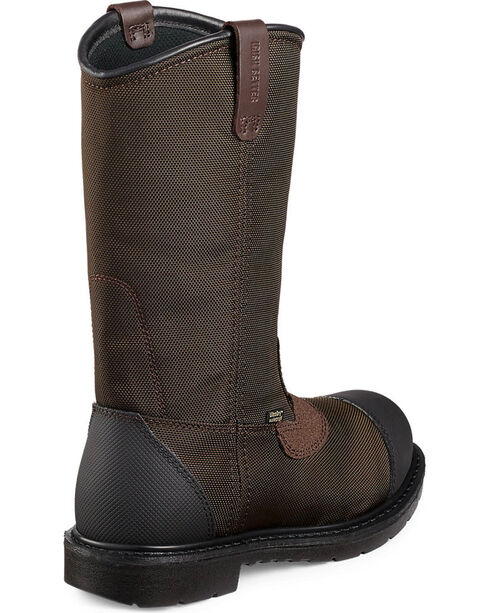 Red Wing Irish Setter Men's Farmington Work Boots - Steel Toe , Brown, hi-res