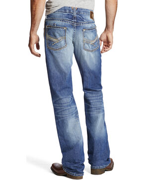 Ariat Men's M6 Drifter Slim Fit Jeans, Indigo, hi-res