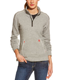 Ariat Flame Resistant Women's Quarter Zip Fleece, , hi-res
